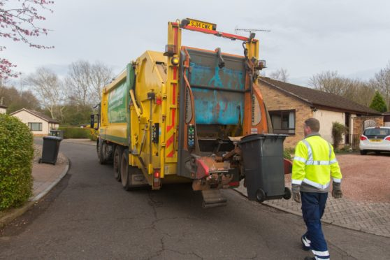 Fife Council has issued an apology after bin services were disrupted.