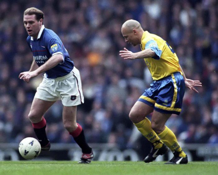 George O'Boyle up against Paul Gascoigne.