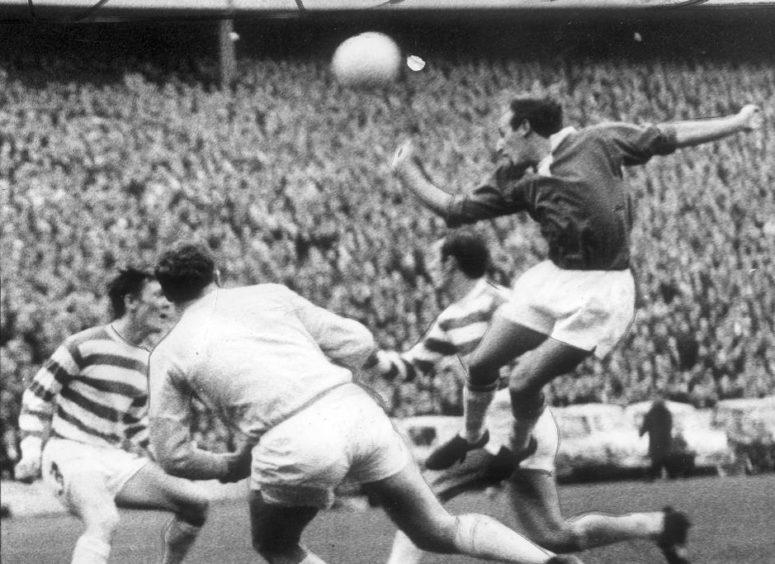 Henry Hall against Celtic in 1969.