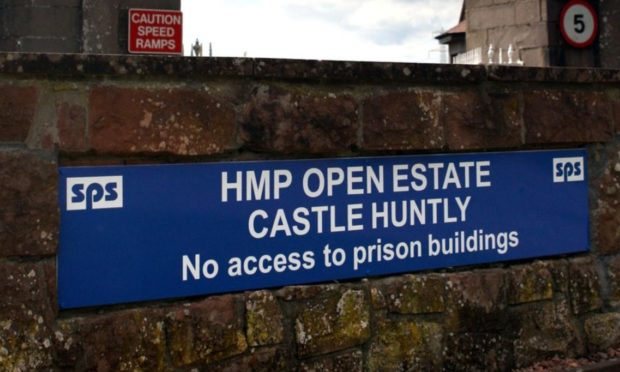 HMP Castle Huntly.