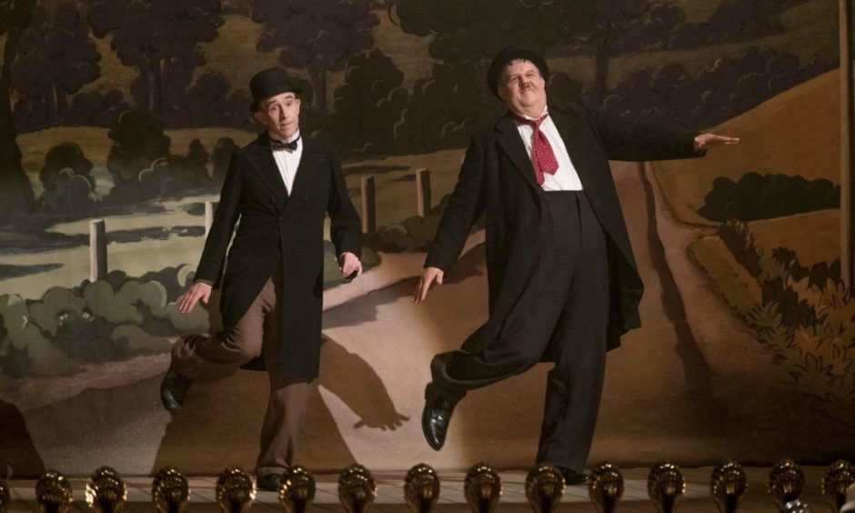 Jon S Baird's film Stan & Ollie won a Bafta for the Peterhead director.