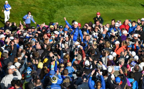 The Solheim Cup showed there was an audience for the LET.