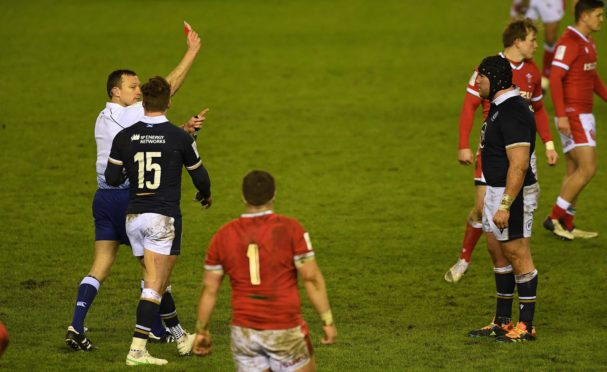 Scotland continued to dispute Matt Carley's decision at Zander fagerson's disciplinary panel.