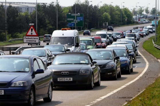 Motorists in Fife are being warned to expect delays over the next three weeks
