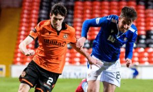 St Johnstone can act as an inspiration for Dundee United as they target Scottish Cup glory says full-back Liam Smith