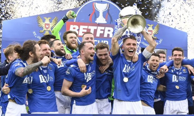 Saints' Betfred Cup winning team was peppered with home grown and hometown talent.