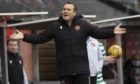 Dundee United boss Micky Mellon.