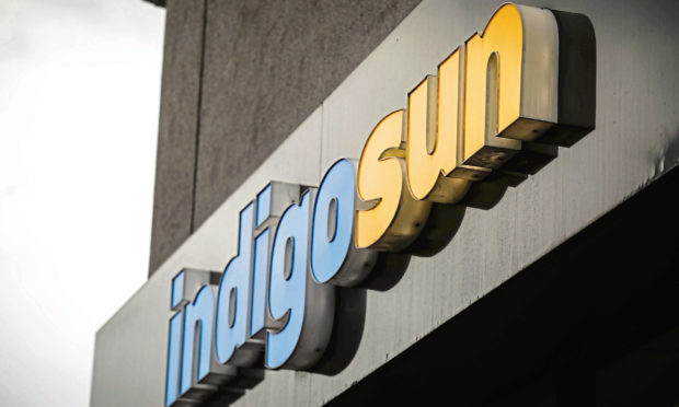 An Indigo Sun salon.