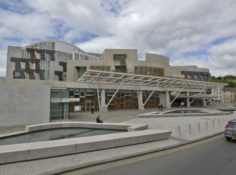 Mandatory Credit: Photo by Mauritz Antin/EPA/Shutterstock (8600500b) An exterior view of the Scottish parliament building in the Holyrood area of Edinburgh, Scotland, United Kingdom, 08 June 2015. Scottish parliament, Edinburgh, United Kingdom - 08 Jun 2015