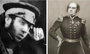 Dr Harry Goodsir, left, from Fife, was chosen for the expedition by Sir John Franklin, right.