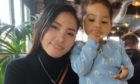 Bennylyn Burke and her daughter Jellica