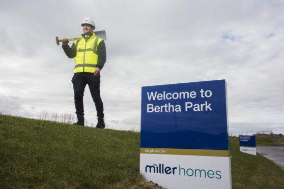 Site Manager Ross Beattie