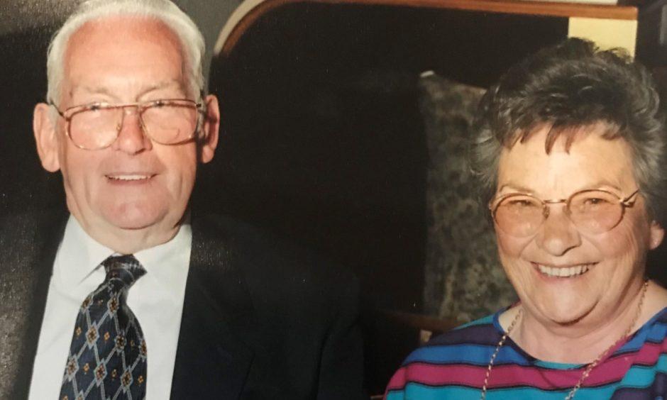Bob Samson and his wife Sheila.
