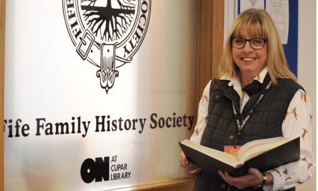 Fife Family History Society chairman Ali Murray