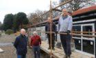 From left: John Watt, Morris Flood, David Duff and James Kellie from North Inch Bowling Club.