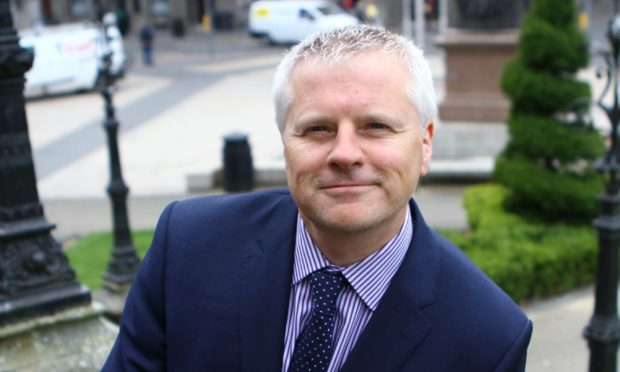 Craig Baker, Global chief investment officer for Willis Towers Watson, who manage the Alliance Trust portfolio, in Dundee city centre.