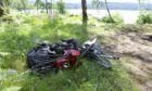 Mess left behind by at the side of Loch Rannoch in July.