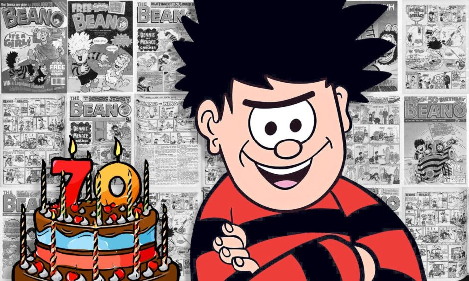 Dennis the Menace marks his 70th anniversary on March 17.