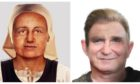 The digitally reconstructed faces.