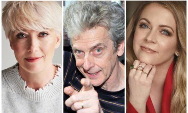 Emma Thompson, Peter Capaldi and Melissa Joe Hart