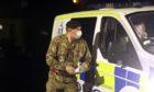 Milnathort bomb evacuate police
