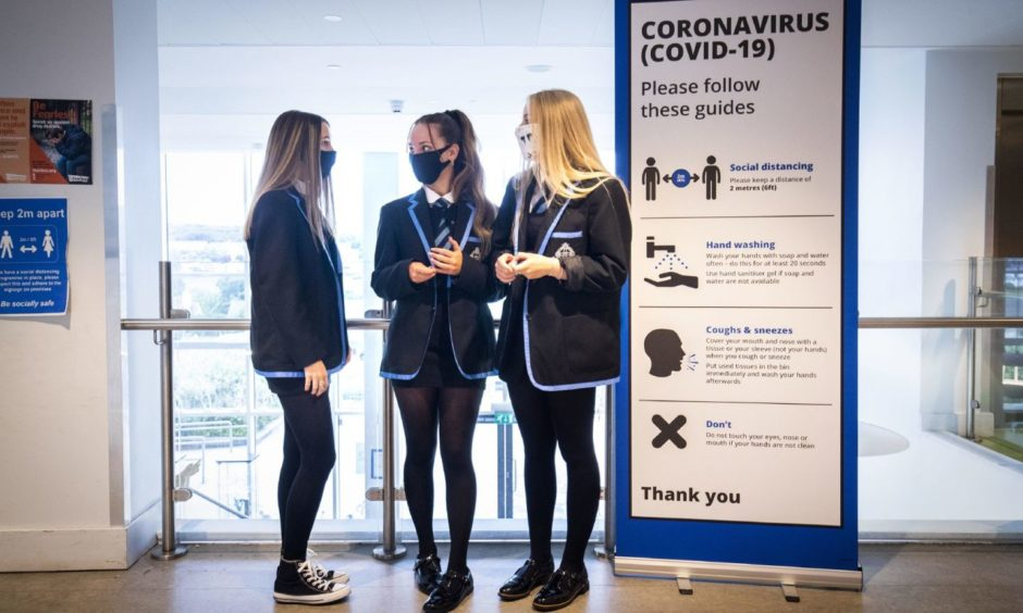 Pupils will be able to reconnect on their return to school.