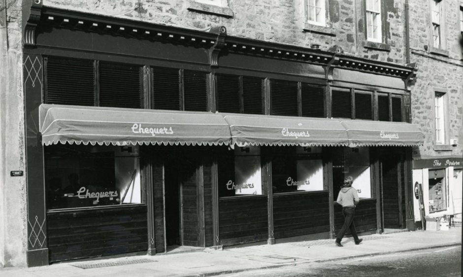 Chequers pub in the Nethergate is one of the classic pubs being remembered ahead of the easing of lockdown restrictions in Dundee.