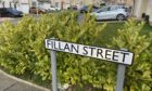Fillan Street in Dunfermline where the attempted double theft took place.
