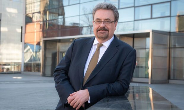 Professor Iain Gillespie, Principal & Vice-Chancellor of the University of Dundee