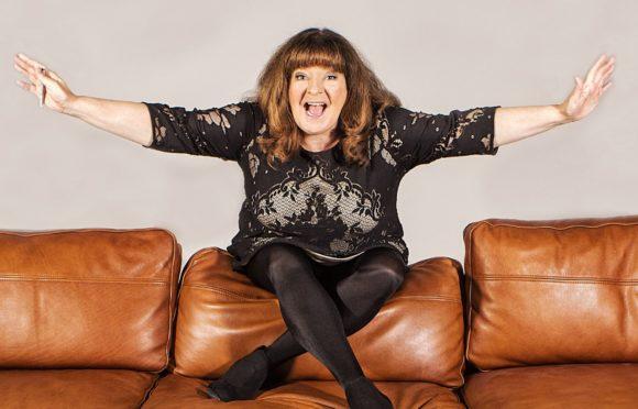Stand-up comedian Janey Godley.
