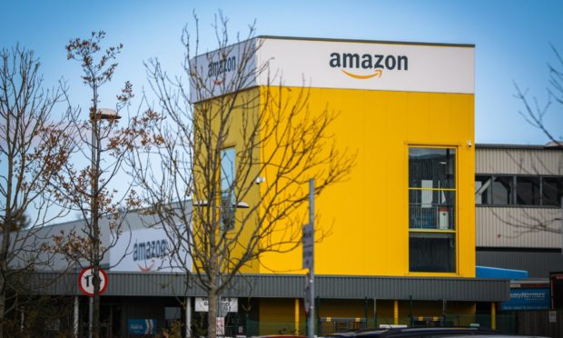 Amazon has a huge operation in Dunfermline.