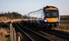 A ScotRail train.