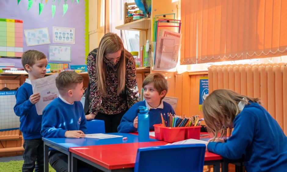 An update on the next stage of the phased return of schools is expected to be given in Parliament tomorrow.
