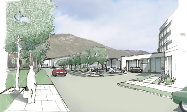 Drawings of proposed development at West Kinfauns