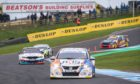 British Touring Cars at the Knockhill circuit, Fife.