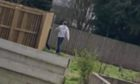To go with story by James Simpson. Concerns about another potential dog theft. Picture shows; His dog Luna and one of them reportedly involved in the incident.. Huntly Place, Douglas, Dundee. Supplied by Mikey Morrison Date; 14/03/2021