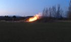 The fire at Riverview Park