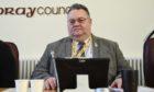 Graham Leadbitter, leader of Moray Council