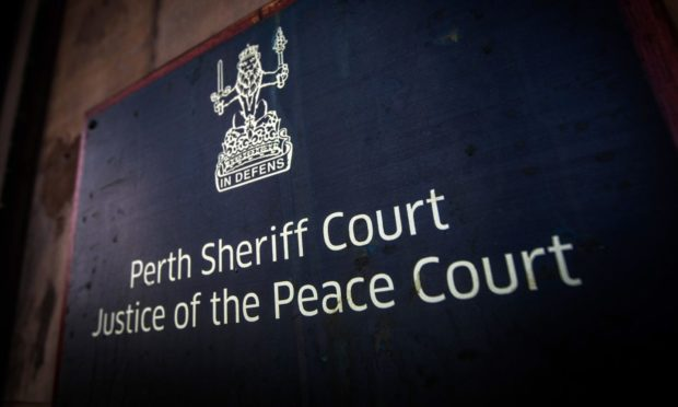 Bloodworth's trial is taking place at Perth Sheriff Court