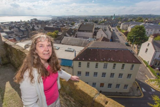 Kirkcaldy Old Kirk, chairwoman , Rosemary Potter, has welcomed the latest funding.