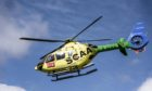 Scotland's Charity Air Ambulance was called to the scene.