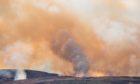Controlled burning near Aberfeldy