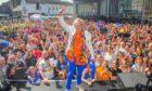Sir Ian McKellen at Perthshire Pride 2019.