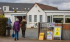 Voters headed to cast their ballots at Methven Bowling Club in the Almond and Earn by-election on Thursday.