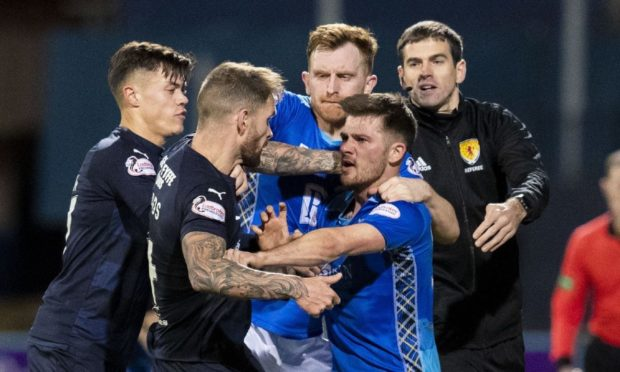 Dundee and St Johnstone last clashed in 2019.