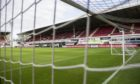 Dunfermline's home ground - East End Park.