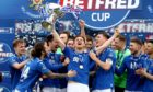 St Johnstone are the League Cup holders.