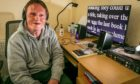 Author Billy Horsburgh (39) who is highlighting the accessibility of Audio Books for the blind and partially sighted in advance of World Book Day.