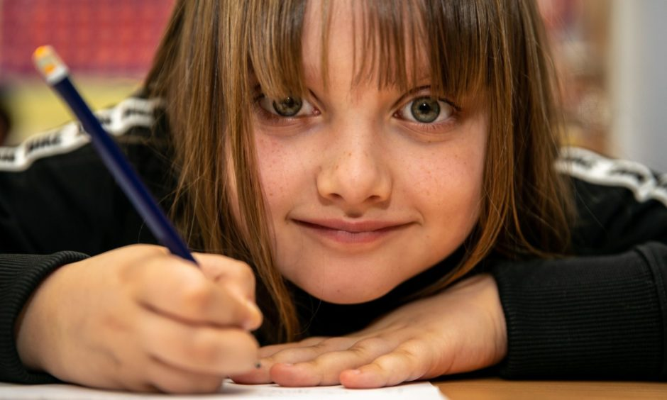 Primary three pupils at St Clement's RC Primary School in Dundee have been putting pen to paper.