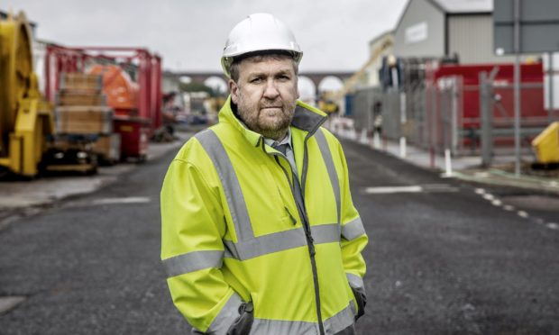 Tom Hutchison, chief executive Montrose Port Authority